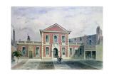Barber Surgeons Hall, 1846 Giclee Print by Thomas Hosmer Shepherd