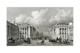 Waterloo Place and Part of Regent Street, Pub.1828 Giclee Print by Thomas Hosmer Shepherd