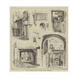 The Fox under the Hill, Adelphi, David Copperfield Giclee Print by Thomas Harrington Wilson