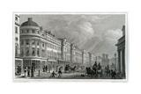 Regent Street, London, from the Quadrant Giclee Print by Thomas Hosmer Shepherd