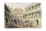 The Bell Inn, Aldersgate Street, 1851 Giclee Print by Thomas Hosmer Shepherd