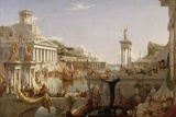 The Course of Empire: the Consummation of the Empire, C.1835-36 Giclée-tryk af Thomas Cole