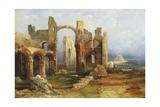Lindisfarne Priory, C.1837 Giclee Print by Thomas Miles Richardson