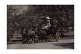 The Fairman Rogers Four-In-Hand (A May Morning in the Park) 1899 Giclee-trykk av Thomas Cowperthwait Eakins