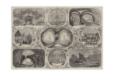 The Christmas Entertainments Giclee Print by Thomas Harrington Wilson