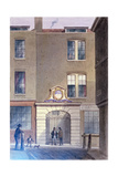 The Entrance to Bakers'Hall, 1855 Giclee Print by Thomas Hosmer Shepherd