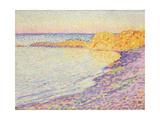 Petit Plage, Saint Tropez, 1897 Gicléetryck av Theo van Rysselberghe