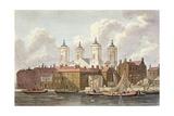 St. Johns Church Westminster, 1815 Giclee Print by Thomas Hosmer Shepherd
