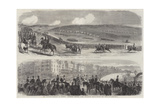 The Volunteer Field-Day at Brighton Giclee Print by Thomas Harrington Wilson