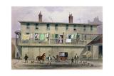 The Old Vine Inn, Aldersgate Street, 1855 Giclee Print by Thomas Hosmer Shepherd