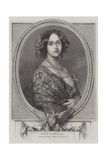 Her Majesty the Queen of Prussia, Crowned Yesterday (Friday) at Konigsberg Giclee Print by Thomas Harrington Wilson