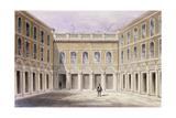 The Inner Court of Drapers' Hall, 1854 Giclee Print by Thomas Hosmer Shepherd