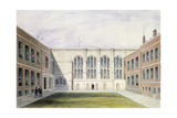 The Inner Court of Merchant Taylors' Hall, 1853 Giclee Print by Thomas Hosmer Shepherd