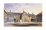 The City Green Yard, 1855 Giclee Print by Thomas Hosmer Shepherd
