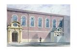 Haberdashers Hall, 1852 Giclee Print by Thomas Hosmer Shepherd