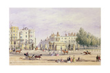 Grosvenor Gate and the New Lodge, 1851 Giclee Print by Thomas Hosmer Shepherd