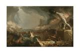 The Course of Empire: Destruction, 1836 Giclée-tryk af Thomas Cole
