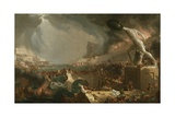 The Course of Empire: Destruction, 1836 Gicléedruk van Thomas Cole