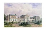 Fever Hospital, Liverpool Road, 1849 Giclee Print by Thomas Hosmer Shepherd