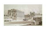 Banqueting House and King's Gate, 1827 Giclee Print by Thomas Hosmer Shepherd