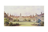 Emanuel Hospital, Tothill Fields, 1850 Giclee Print by Thomas Hosmer Shepherd