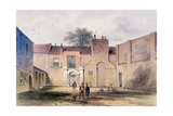Entrance to Tothill Fields Prison, 1850 Giclee Print by Thomas Hosmer Shepherd