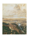 Vallee D'Avergne Giclee Print by Theodore Rousseau