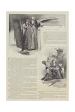The Fur Cloak Reproduction procédé giclée par Thomas Walter Wilson