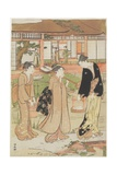Picnic in a Daimyo's Garden, 1786 Giclee Print by Torii Kiyonaga
