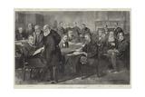 The Eastern Question, a Cabinet Council Reproduction procédé giclée par Thomas Walter Wilson