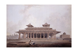 Part of the Palace Within the Fort of Allahabad Reproduction procédé giclée par Thomas & William Daniell