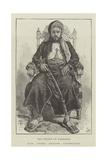 The Sultan of Zanzibar, Now under British Protection Giclee Print by Thomas Harrington Wilson