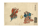 Saruwaka Giclee Print by Torii Kiyonaga