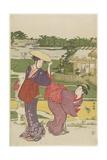 Outing at Muko Jima, 1787 Giclee Print by Torii Kiyonaga