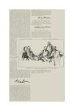The Death of James Payn Reproduction procédé giclée par Thomas Walter Wilson