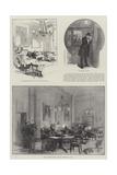 The United Service Club Reproduction procédé giclée par Thomas Walter Wilson
