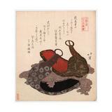 Edo Musashi Abumi Giclee Print by Toyota Hokkei