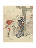 Spring at Enoshima Giclee Print by Toyota Hokkei