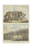 Humours of Horse-Racing a Hundred Years Ago Giclee Print by Thomas Rowlandson