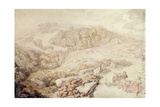Bodmin Moor, North Cornwall, C.1825 Giclee Print by Thomas Rowlandson