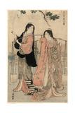 Shiokumi Giclee Print by Torii Kiyonaga
