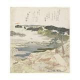 Sunrise on New Year's Day at Kanazawa Giclee Print by Toyota Hokkei