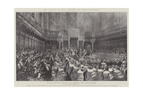 The Opening of King Edward VII's First Parliament Reproduction procédé giclée par Thomas Walter Wilson