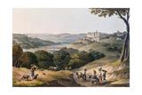 City of Coimbra Giclée-Druck von Thomas Staunton St. Clair