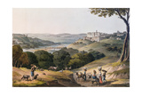 City of Coimbra Lámina giclée por Thomas Staunton St. Clair