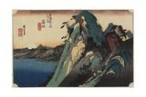 View of the Lake, Hakone, C. 1833 Giclee Print by Utagawa Hiroshige
