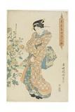 Chrysanthemums, 1830-1844 Giclee Print by Utagawa Kunisada