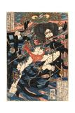 Rori Hakucho Chojun Impressão giclée por Utagawa Kuniyoshi