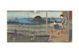The Scene of Akashi, April 1853 Giclee Print by Utagawa Kunisada