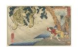 Yoko, 1844-1846 Impressão giclée por Utagawa Kuniyoshi